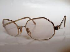 REM Vintage Prescription Eyeglasses Petite-Hex Gold