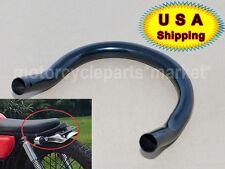 Black Seat Loop Frame Hoop Tracker End Cafe Racer 230mm for HONDA CB 750 500 550