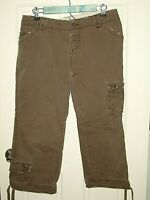 BKE Buckle Womens Size 30x23 (32x22.5) Canyon Distressed Cargo Pants 32-14083
