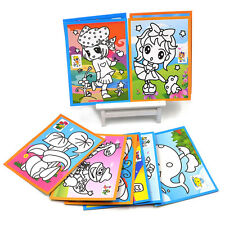2X Scratch Cardboard Paper for Kids DIY Drawing Educational Toy Gifts Random New