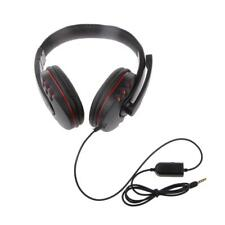 Universal Wird Gaming Headsets Headphones with MIC for PS4 XBOX ONE PC MP4