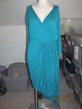 Women's Grayson Teal Pullover Dress  Size 22/24 New Without Tags