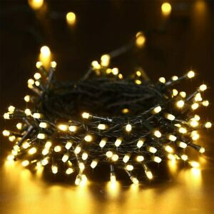 100 LED Solar Power String Fairy Lights Outdoor Party Xmas Tree Lamp Waterproof