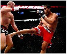 ANTONIO SILVA Signed Autographed UFC MMA 8X10 PIC. K