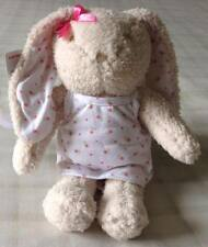 Tesco F&F Bunny Rabbit Floral Dress Baby Girls Comforter/Soft Toy Discontinued