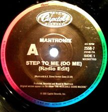 MANTRONIX 45RPM STEP TO ME (DO ME) 1991 FREE POST IN AUSTRALIA