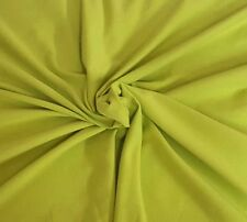 Bamboo Cotton Lycra Fabric Jersey Knit by The Yard Lime 4 Way Stretch 6/17