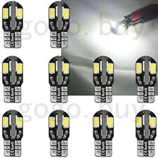 20pcs White T10 501 194 168 W5W 5SMD LED Error Free Canbus Car Side Light Bulb