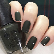 Opi Nail Polish Lacquer Scotland Collection Nlu15 Things I've Seen in Aber-Green