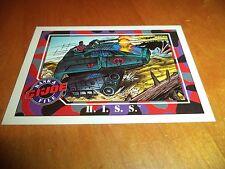 HISS H.I.S.S. # 16 - GI Joe Series 1 Impel Hasbro 1991 Base Trading Card Cobra