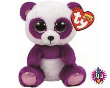 Ty Beanie Babies Boos Juguete Suave Felpa Boom Boom Panda Nuevo con etiquetas
