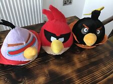 Angry Birds Space Plush Toys.