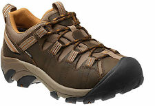 KEEN Targhee II Mens Footwear Walking Shoes - Cascade Brown Sugar All Sizes UK 9.5