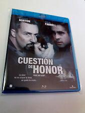 """BLU-RAY """"CUESTION DE HONOR"""" COMO NUEVO GAVIN O'CONNOR EDWARD NORTON COLIN FARREL"""