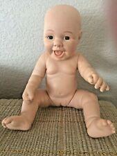 "Vintage 12.5"" Vinyl Anatomically Correct Baby Girl"