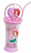 Disney Store Little Mermaid Ariel Spinning Tumbler Heart Shaped