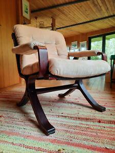 Armchair Club Chair Jacaranda Vintage 60er Easy Chair Danish Westnofa Rykken Era