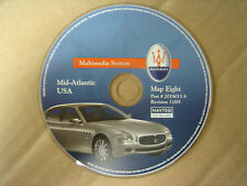 Maserati Quattroporte GPS Navigation CD Map Disc #8 Mid Atlantic NJ VA DC MD PA