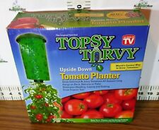 Topsy Turvy Tomato Planter - Be imaginative. Don't limit yourself to tomatoes!