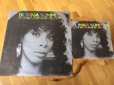 "Donna Summer - Love Has A Mind Of It's Own - UK 1983 12"" & 7"" Vinyl Set."