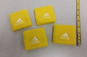 adidas Wrist Sweat Bands Yellow