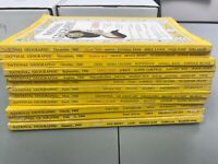 You Pick - National Geographic Magazines - 1960-1969 - Most Like New Collectible