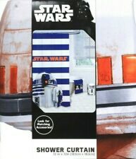 Star Wars Blue Shower Curtain