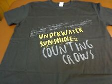 Counting Crows UNDERWATER SUNSHINE Concert Tour T-Shirt  XL New   T0