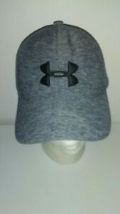 UNDER ARMOR YOUTH GRAY Heather SMALL/MEDIUM POLYESTER HAT
