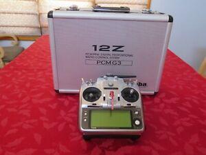 Futaba 12Z Transmitter with TM-14 2.4 Ghz Module & 6208SB HV receiver