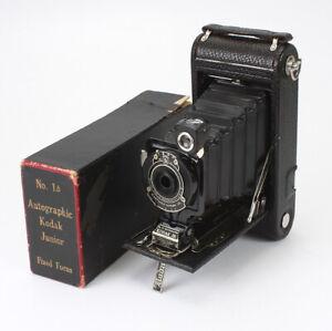 NO. 1A AUTOGRAPHIC KODAK JUNIOR, FIXED FOCUS, BOXED, STYLUS MISSING/cks/194371