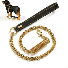 Titanium Steel P Chain Pet Spring Buffer Large Dog Traction Rope Explosion-proof