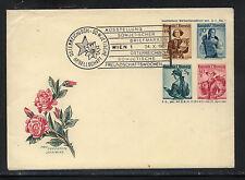 Austria special postal envelope cancelled enclosure 1951 Kl0104