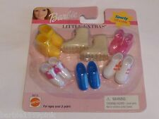 """Little Extras """"Sporty Shoes """" For Your Barbie """"NEW"""" By Mattel MIP Variety"""