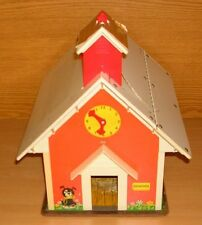 Fisher Price Schulhaus Schule Haus vintage Play Family