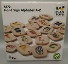 Plan Toys American Sign Language A-Z hand sign alphabet Teaching - Learning