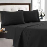 2200 series 4 Piece Bed Sheet Set Deep Pocket Sheets Softer Than Egyptian Cotton