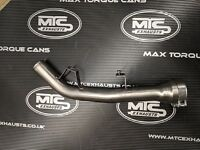 Kawasaki ZR900 Performance model T304 Stainless De-cat exhaust pipe,NOT RS MODEL