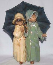Lladro Under The Rain Figurine 12077 Gres