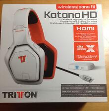 TRITON katana HD 7.1 wireless headset for Consoles