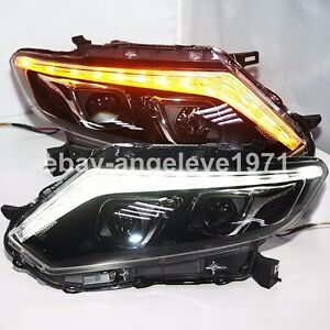 2014-2016 Year For NISSAN X-Trail Rogue LED Head Lamps LED Turn Lights PW