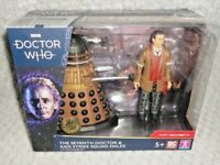 The Seventh Doctor & Axis Strike Squad Dalek Action Figure Set NEW DR WHO