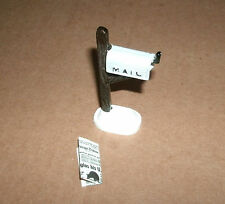 1/18 Scale Mailbox And Newspaper For Model Diorama Accessories - Mail News Items
