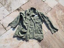 US ARMY UTILITY Camisa Chaqueta de Campo og-107 VIETNAM NAM DSA 1969 Talla M #1