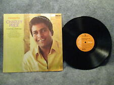 33 RPM LP Record Charley Pride A Sunshiny Day 1972 RCA Victor Records LSP-4742