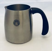 Starbucks Coffee 16 Oz stainless steel milk frothing pitcher with handle 2006