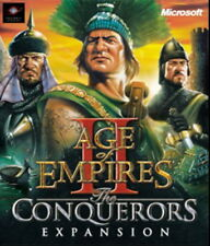 Age of Empires 2 II the Conquerors Expansion PC CD