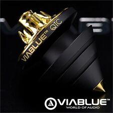 ViaBlue QTC höhenverstellbare Spikes für Lautsprecher Subwoofer 4 Stück schwarz