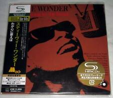 Stevie Wonder - With A Song In My Heart / JAPAN MINI LP SHM CD (2008) NEW