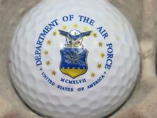 (1) AIR FORCE - US DEPARTMENT OF THE AIR FORCE MILITARY LOGO GOLF BALL